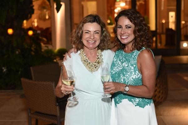 Renata Araujo e a mãe, Rosa Maria Araujo
