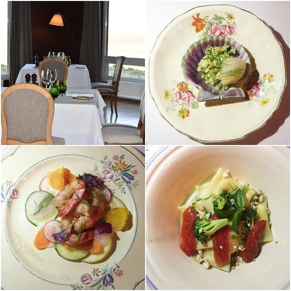 Os pratos do restaurante