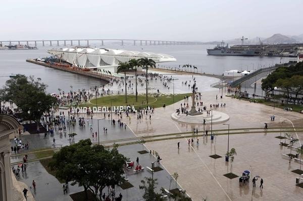 Praça Mauá Revitalizada