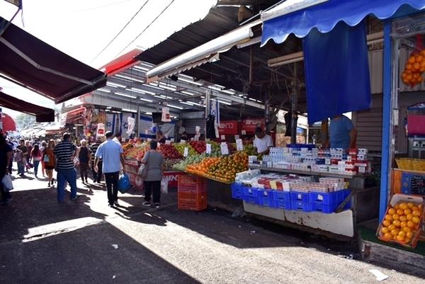Barraquinhas no Mercado
