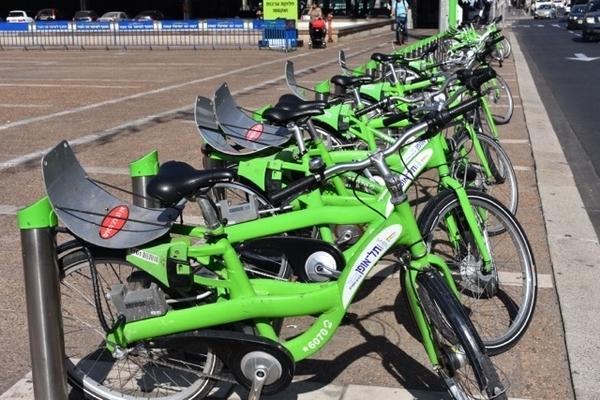Bicicletas nas ruas