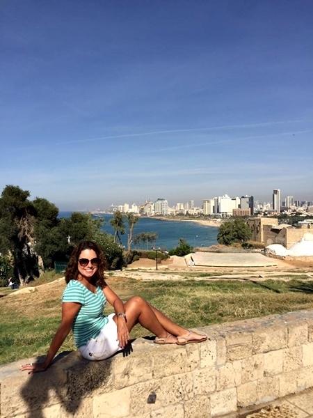 A vista de Jaffa