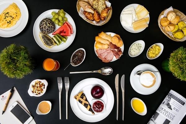 Opções para o café da manhã