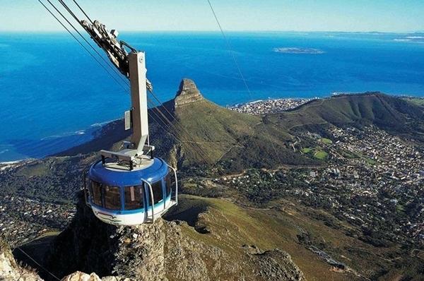 Table Mountain, na África do Sul