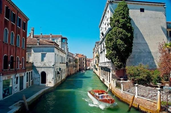 Os famosos canais de Veneza