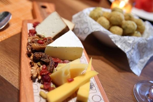 Queijos italianos no Tano Cucina