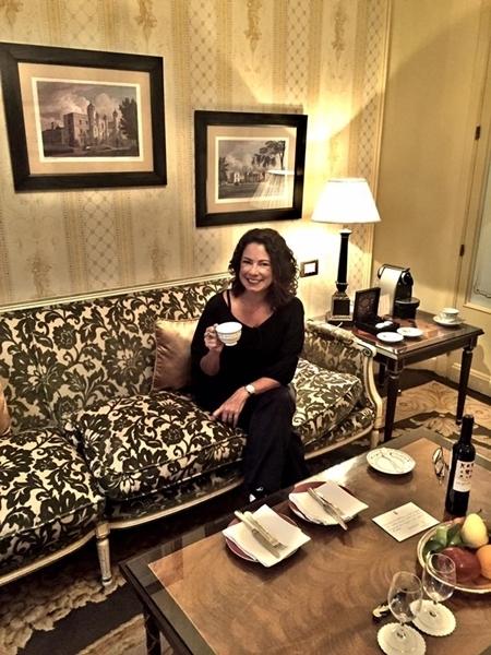 No Hotel Ritz, em Madrid