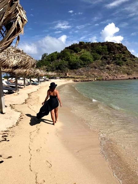 Praia em St Barth