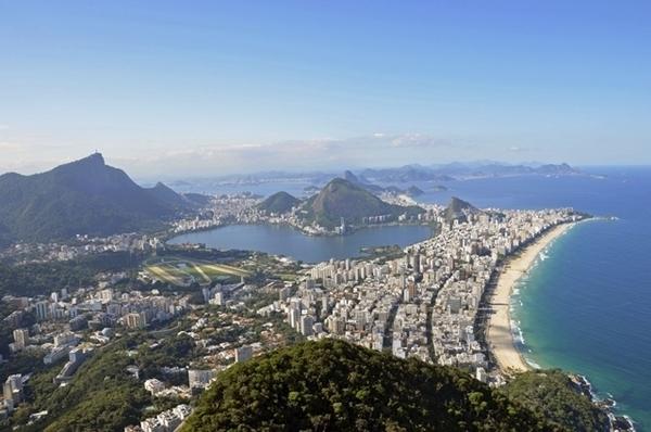 Trilha do Morro Dois Irmãos, no Rio