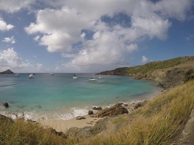 Praia Colombier, em St Barth