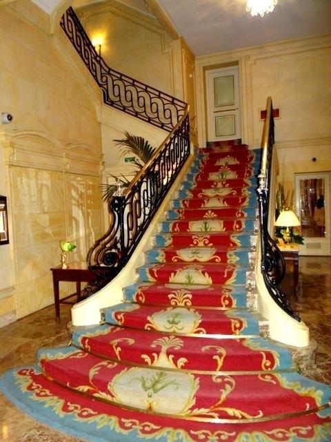 A imponente escada