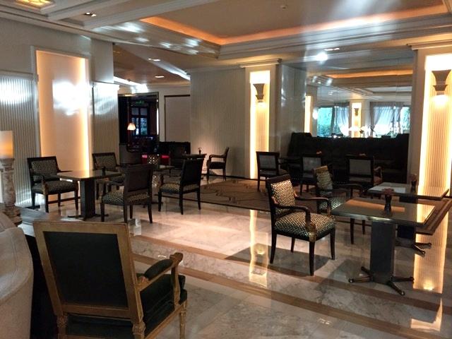 Ambiente do lobby