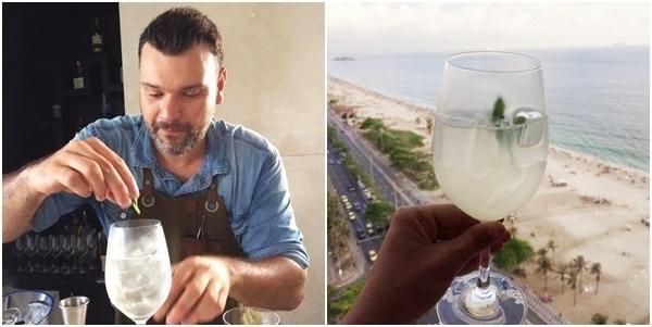 Alex Mesquita e o drinque Season of Love