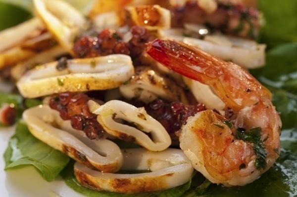 Mix de frutos do mar