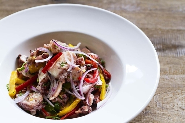 Salada de Polvo Siciliana