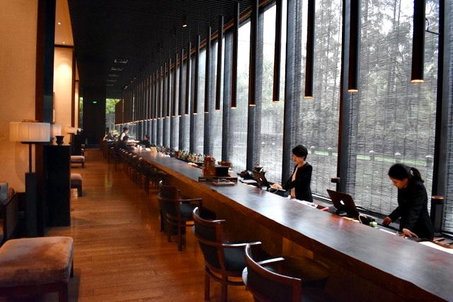 Bar junto com Recepção