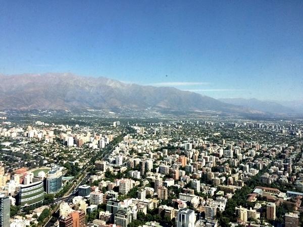 Vista de Santiago