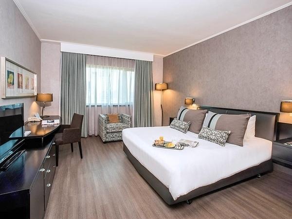 O que fazer em Santiago - Quarto do Hotel Mercure