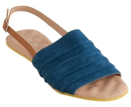 Rasteira Confort Azul - Soulier