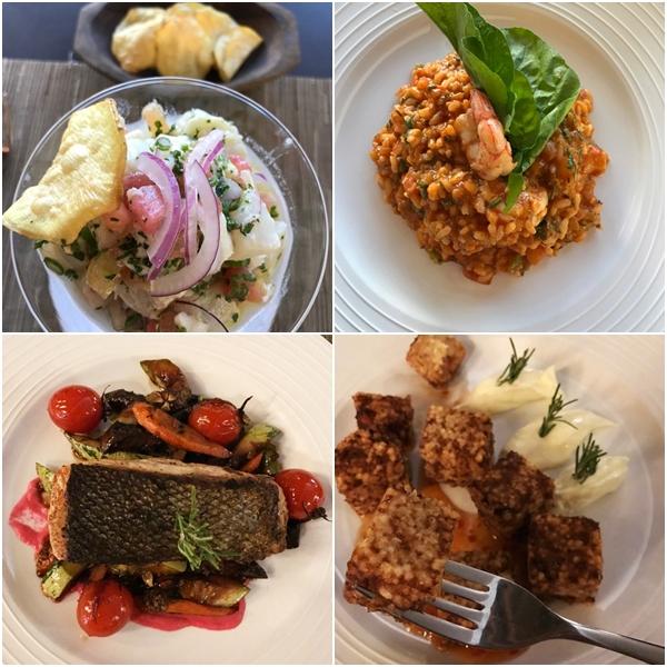 Pratos do Restaurante