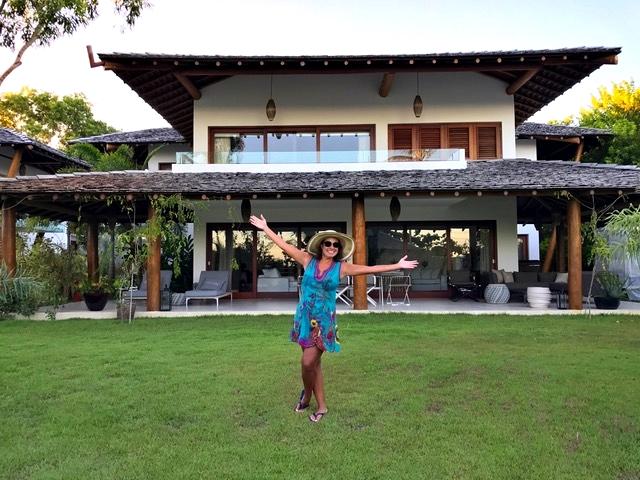 Na minha villa