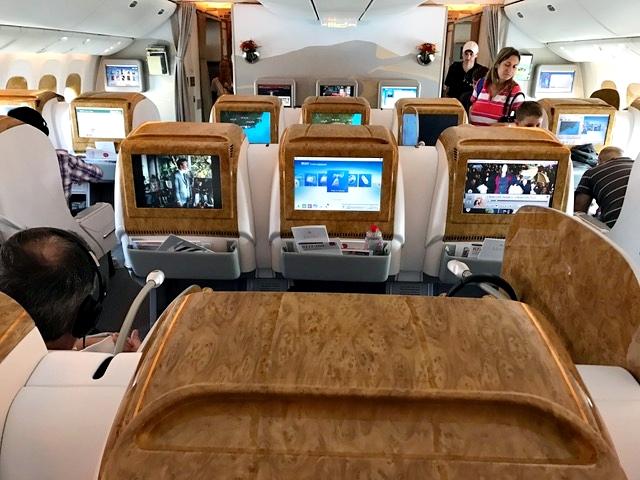 Voo Rio-Buenos Aires pela Emirates 10
