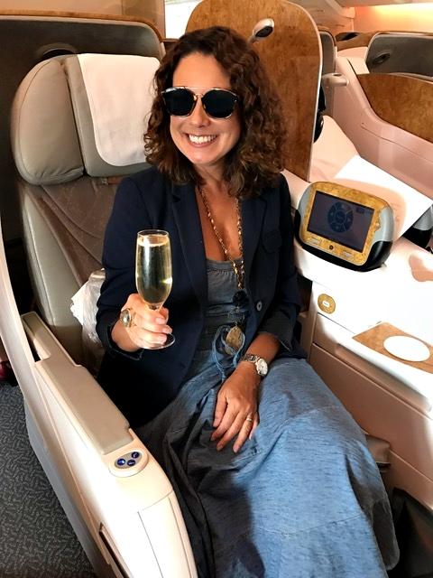 Luxo e conforto na Emirates