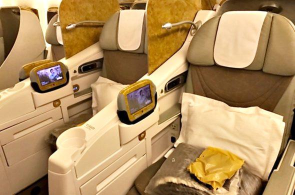 Voo Rio-Buenos Aires pela Emirates 19