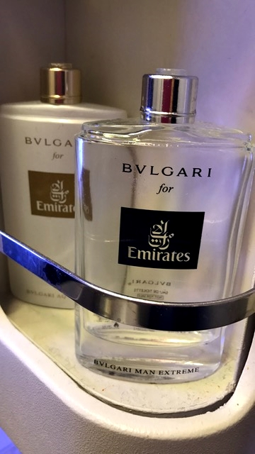 Amenities da Bvlgari