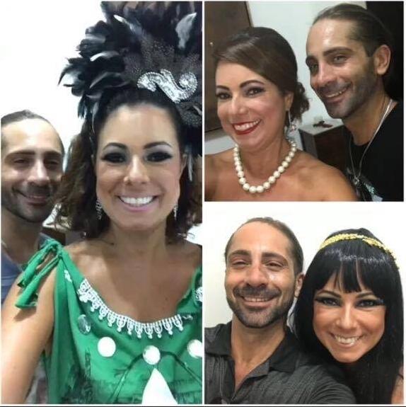 Renata Araujo e Marcelo Fant