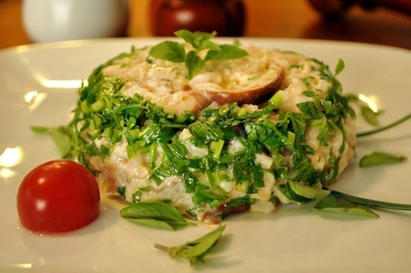 Risoto de arroz arbóreo integral de Cogumelo Paris