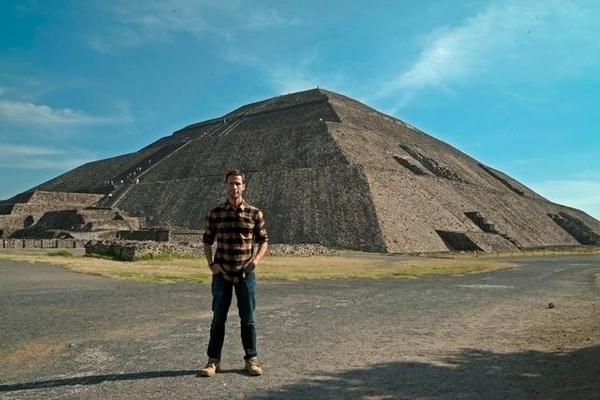 Pedro na Cidade do México, destino do primeiro episódio