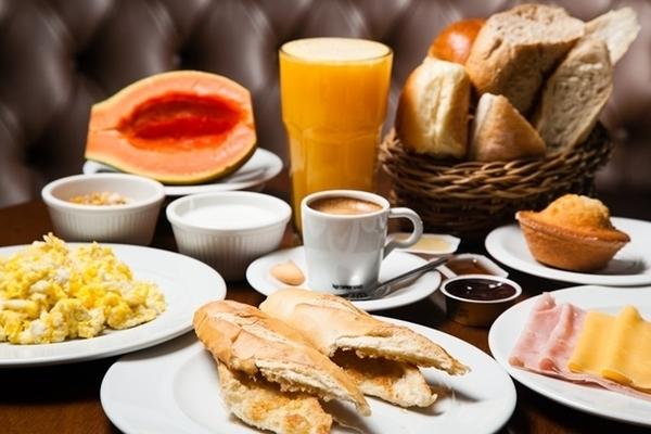 café da manhã no Rio