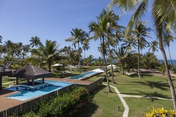 Hotel pé na areia em Maraú - Bahia