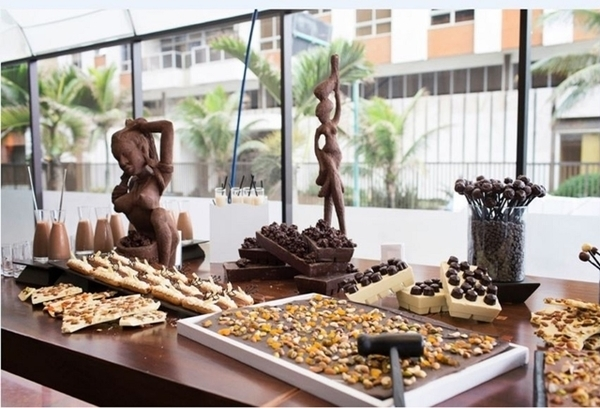 Buffet de chocolates