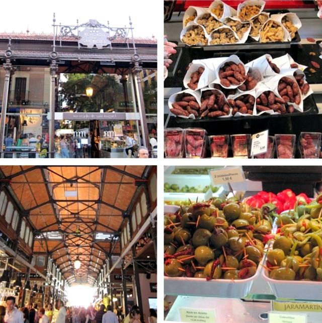 mercados gastronômicos em Madri