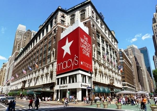 5 lojas de departamento nos EUA
