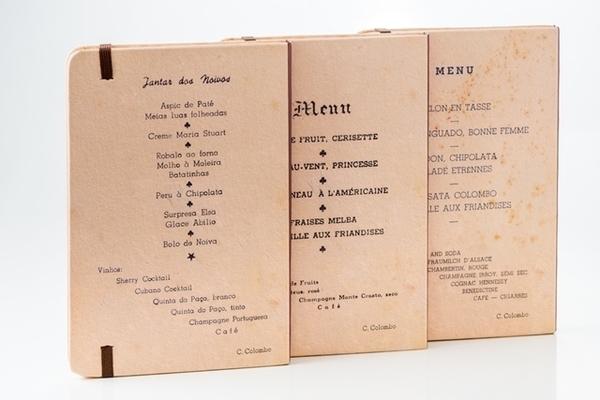 Confeitaria Colombo lança a coleção Cardápios Históricos