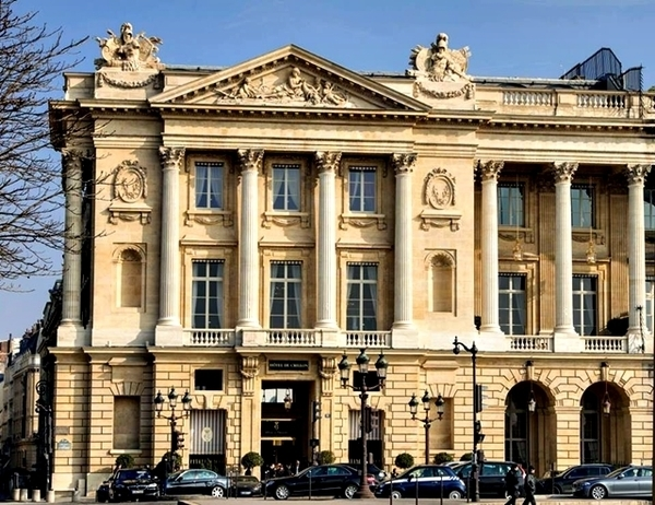 hotel de crillon em Paris