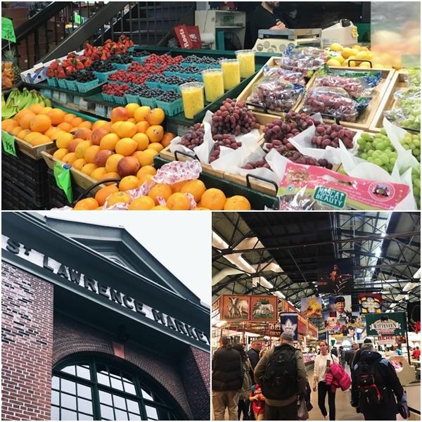 Mercado gastronômico de Toronto