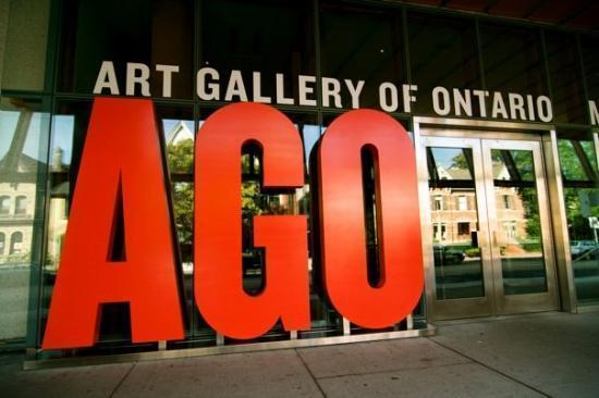 Fachada da AGO - Arte Gallery of Ontario