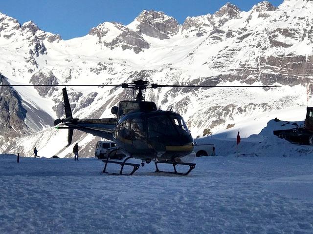 estação de esqui no chile