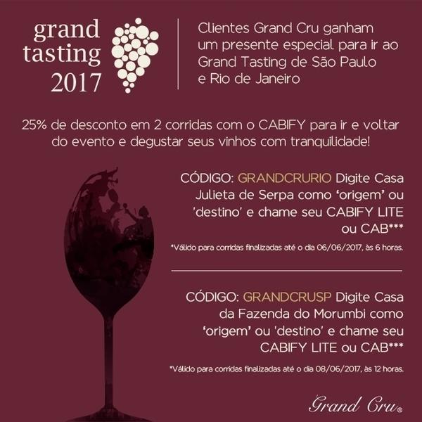 Grand Cru Tasting 2017