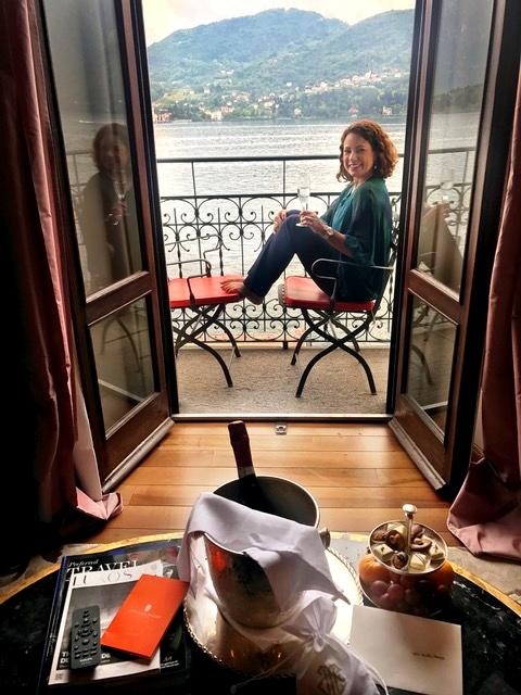Grand Hotel Tremezzo no Lago de Como