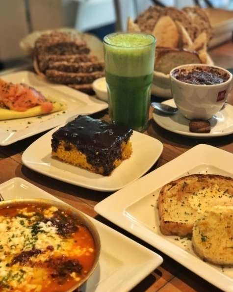 lugares para tomar café da manhã no Rio