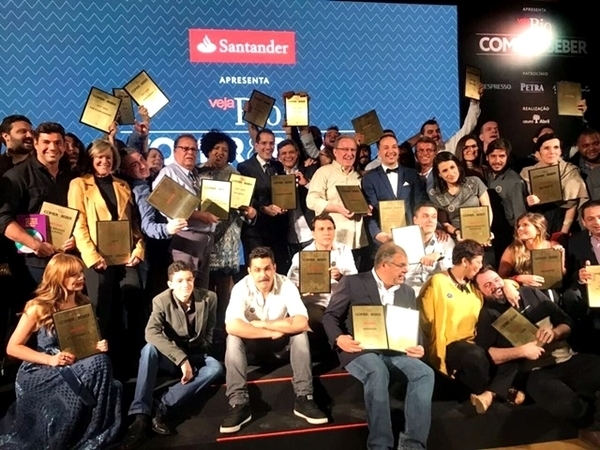Os vencedores do prêmio Veja Rio