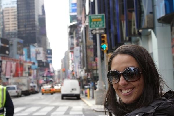 primeira vez em NY