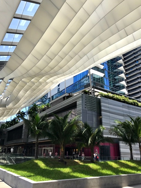 novo shopping de Miami
