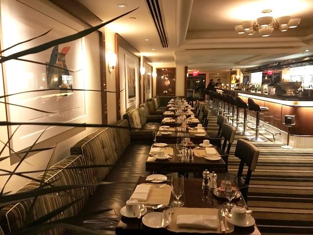 Restaurante do hotel The Pierre