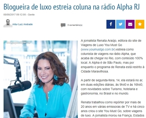 You Must Go na Rádio Alpha